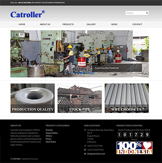 Catroller is Manufacturer and Exporter of Roller Conveyors in Indonesia.