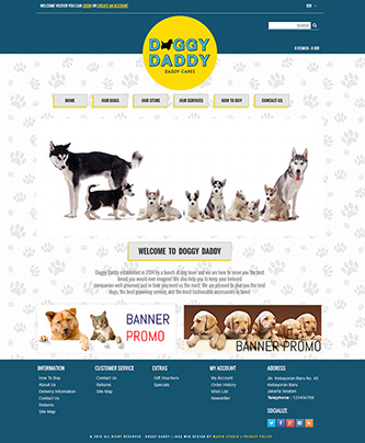 Doggy Daddy | Pet Store
