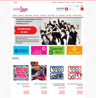Melodiary | K-POP Store
